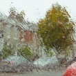 Stock Photo: Wet windscreen
