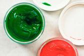 Paint pots — Stockfoto