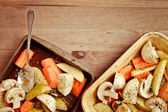 Autumn vegetables — Stock Photo