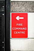 Fire command centre — Stock Photo