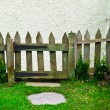 Stock Photo: Picket fence