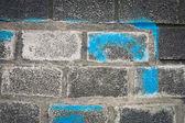 τοίχο από τούβλα — Φωτογραφία Αρχείου