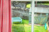 коттедж сад — Стоковое фото