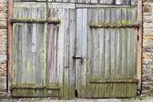 Porta do celeiro — Fotografia Stock