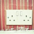 Stock Photo: Power socket