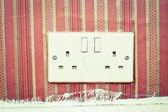 Power socket — Stock Photo