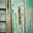 Old shed door — Stock Photo