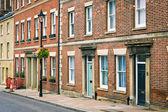 English town houses — Stock Photo