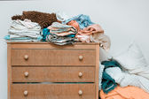 Bed linen — Stock Photo