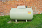 Propane tank — Stock Photo