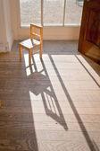 Sedia in legno — Foto Stock