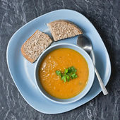 Home made soup — Stock Photo