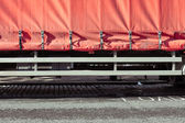 Lorry cover — Stock Photo