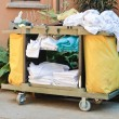 Housekeeping trolley — Stock Photo #39034641