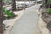 Tarmac path — Stock Photo