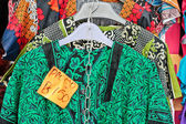 Market clothes — Stock Photo