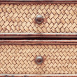 Wicker drawers — Stock Photo