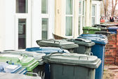 Rubbish bins — Stock Photo