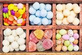 Candy selection — Stock Photo