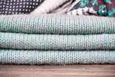 Wool fabric — Stock Photo