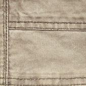 Stitched seams — Stockfoto