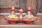Moroccan tagine — Stock Photo