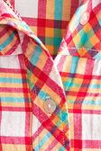 Checked shirt — Stock Photo