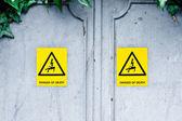 死の危険性 — ストック写真