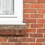 Double glazed window — Stock Photo
