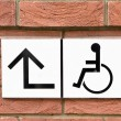 Disabled sign — Stock Photo #43533509