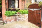 Front garden — Stock Photo