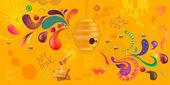 Abstract Background Shana Tova — Stock Photo