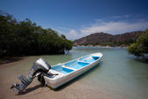Boat at Playa las Gatas — Stock Photo
