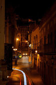 Street at night — Stock Photo