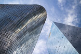 Soumaya and Carso Buildings — Stock Photo