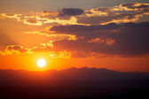 Sunset in San Miguel de Allende — Stock Photo
