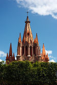 San Miguel de Allende Church — Stock Photo