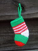 Little christmas stockings — Stock Photo