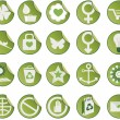 Set of icons. — Stock Vector #6306691