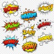 Stock Vector: Comic Sound Effects