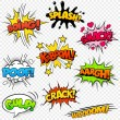 Stock Vector: Comic Sound Effects set2