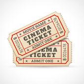 Vector Cinema tickets — Stock Vector