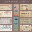 Vector Grunge Cinema tickets — Stock Vector #48164277