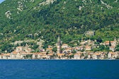 View of Perast, Montenegro — Stock Photo