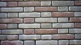 Coloured brick wall — Stock Photo