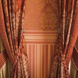 Curtain at home — Stock Photo