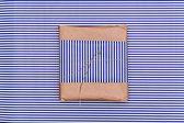 Prokládané dárková krabice — Stock fotografie