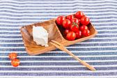 Feta and tomatoes — Stock Photo