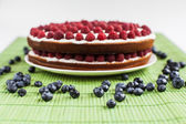 Berry cake — Stock Photo