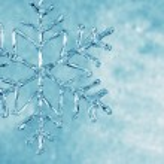 Glass snowflake — Stock Photo #12795084